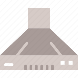 belongings, furniture, hood, households icon