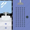 belongings, furniture, households, shower