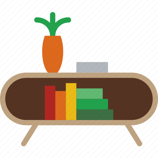 belongings, book, furniture, households, stand icon