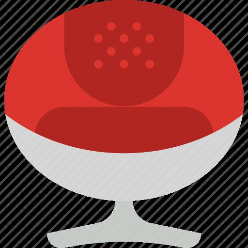 armchair, belongings, furniture, households, modern icon