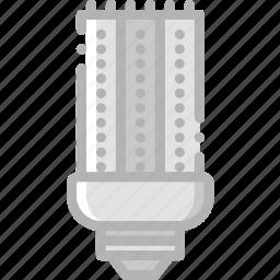 belongings, bulb, furniture, households, led icon