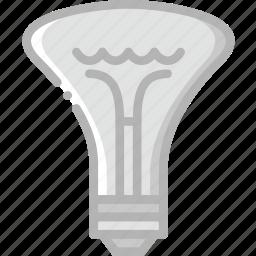belongings, bulb, furniture, households icon