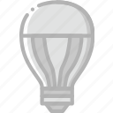 belongings, bulb, furniture, households, led icon