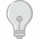 belongings, bulb, furniture, households, light icon