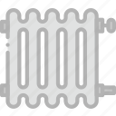 belongings, furniture, households, radiator icon
