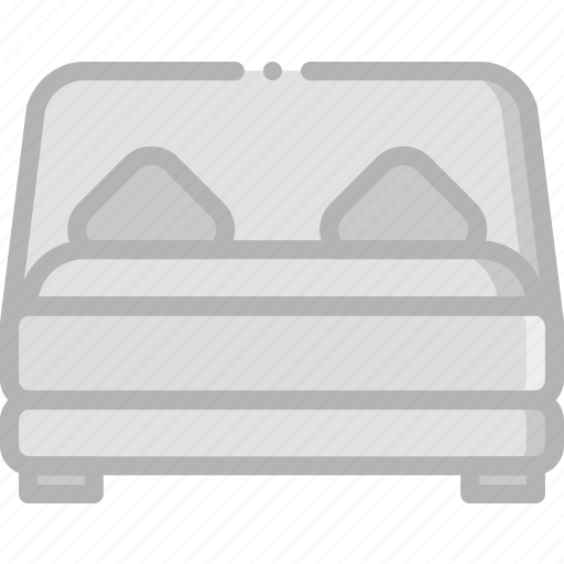 bed, belongings, furniture, households icon