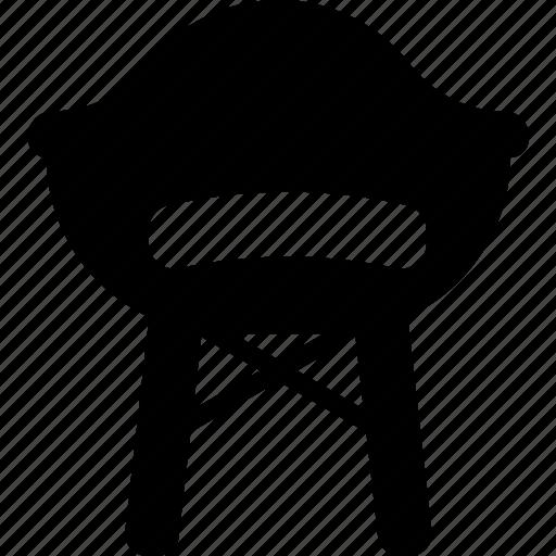 belongings, chair, furniture, households icon
