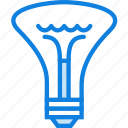 belongings, bulb, furniture, households icon
