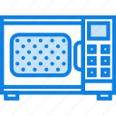 belongings, furniture, households, microwave icon