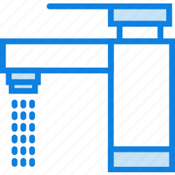 belongings, furniture, households, tap icon