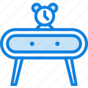 belongings, furniture, households, nightstand icon
