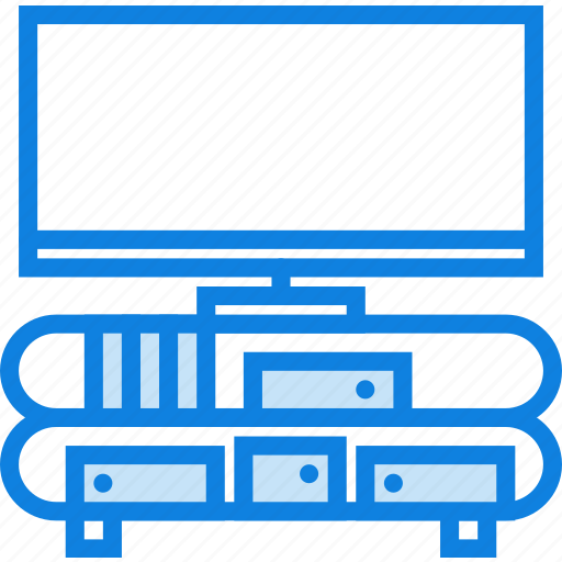 belongings, enterntainment, furniture, households, stand icon