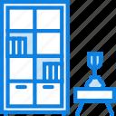 belongings, bookcase, furniture, households