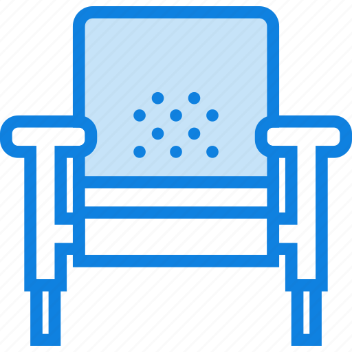 armchair, belongings, furniture, households, vintage icon