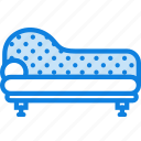 belongings, furniture, households, roman, sofa icon