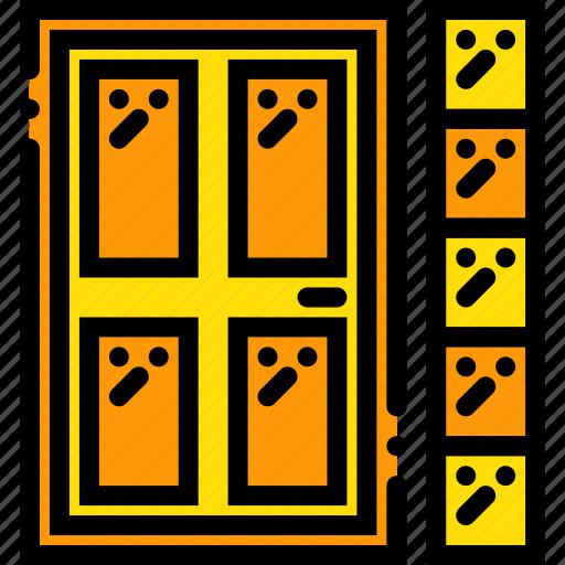 backdoor, belongings, furniture, households icon