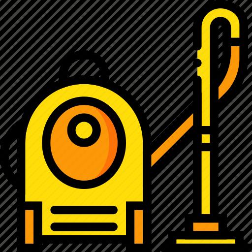 belongings, cleaner, furniture, households, vacuum icon