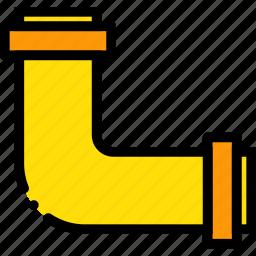 belongings, furniture, households, pipe icon