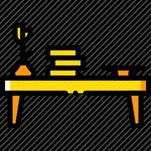 belongings, coffee, furniture, households, table icon