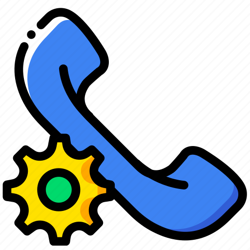 communication, interaction, interface, phonecall, settings icon