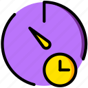 communication, for, interaction, interface, stopwatch, wait icon
