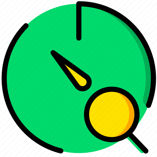 communication, interaction, interface, search, stopwatch icon