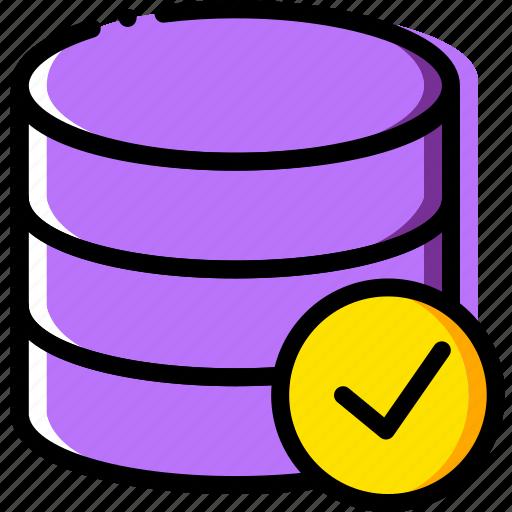 communication, database, interaction, interface, success icon