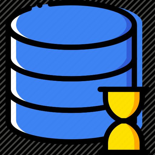 communication, database, interaction, interface, loading icon