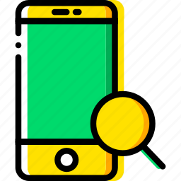 communication, interaction, interface, search, smartphone icon
