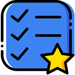 communication, do, favorite, interaction, interface, list, to icon