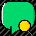 communication, conversation, interaction, interface, search