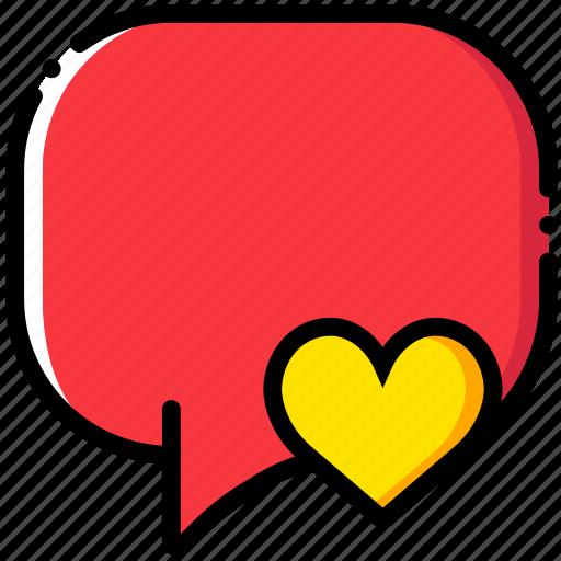communication, conversation, interaction, interface, like icon