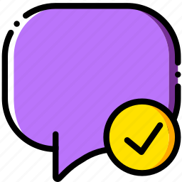 communication, conversation, interaction, interface, success icon