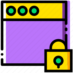 communication, interaction, interface, lock, window icon