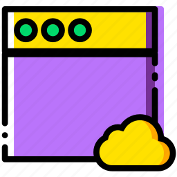 add, cloud, communication, interaction, interface, to, window icon
