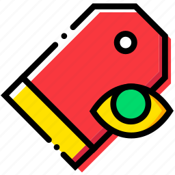 communication, hide, interaction, interface, pricetag icon