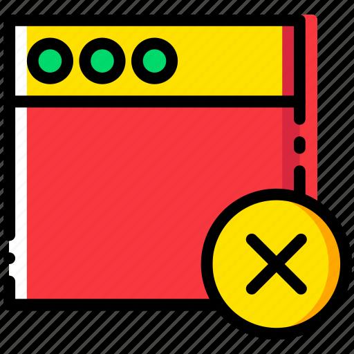 communication, delete, interaction, interface, window icon