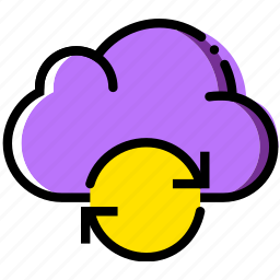 cloud, communication, interaction, interface, sync icon