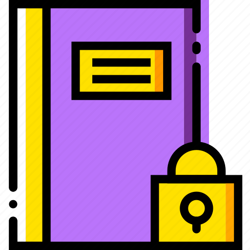 communication, interaction, interface, lock, notes icon