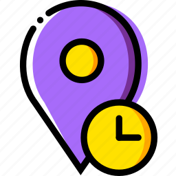 communication, for, interaction, interface, location, wait icon