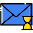 communication, interaction, interface, loading, mail icon