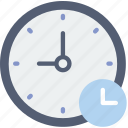 clock, communication, for, interaction, interface, wait icon