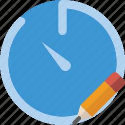 communication, edit, interaction, interface, stopwatch icon