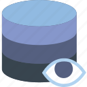 communication, database, hide, interaction, interface icon