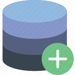 add, communication, database, interaction, interface icon