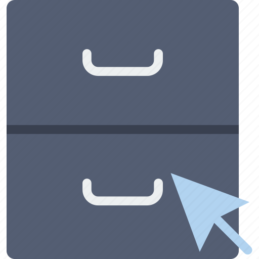 archive, click, communication, interaction, interface icon