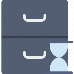archive, communication, interaction, interface, loading icon