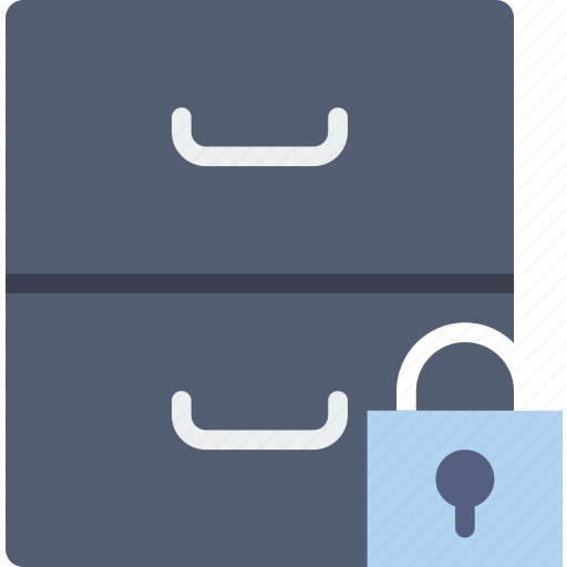 archive, communication, interaction, interface, lock icon