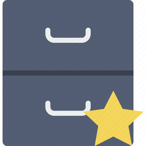 archive, communication, favorite, interaction, interface icon