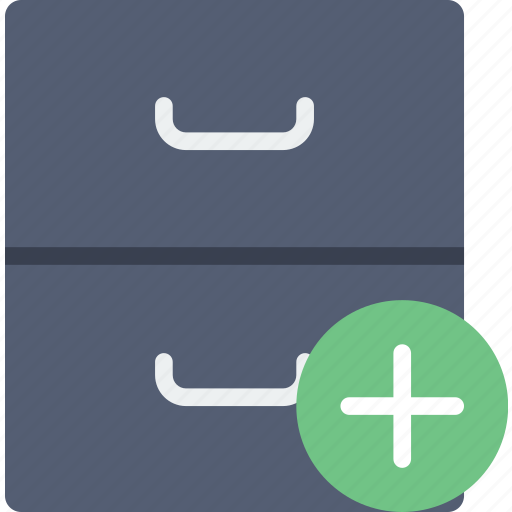 add, archive, communication, interaction, interface icon